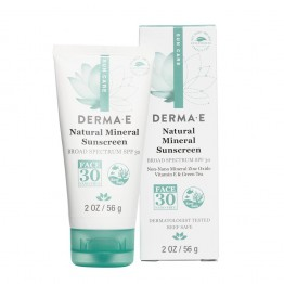 Natural Mineral Sunscreen SPF 30 - Face 2oz.