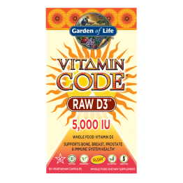 Vitamin Code Raw D3 5000IU
