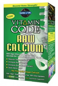 Vitamin Code RAW Calcium 120 Count