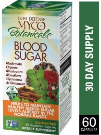 MycoBotanicals Blood Sugar 60 capsules